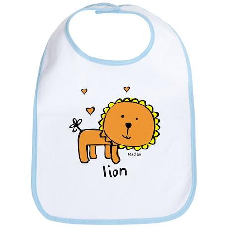 Resden Cute Lion Bib