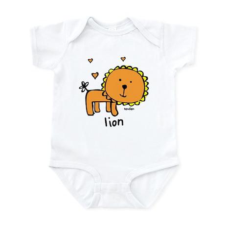 Resden Cute Lion Infant Bodysuit