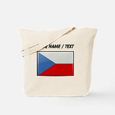 Czech Republic Flag (Custom) Tote Bag