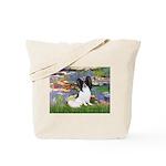 Lilies (2) & Papillon Tote Bag