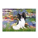 Lilies (2) & Papillon Postcards (Package of 8)