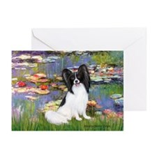 Lilies (2) & Papillon Greeting Cards (Pk of 10)