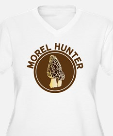 Morel Hunter Plus Size T-Shirt