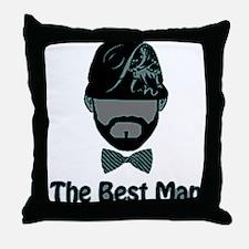 RightOn Best Man1 Throw Pillow