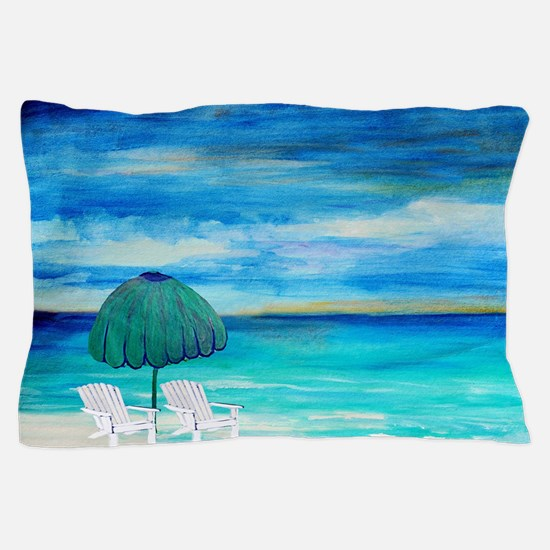 Sea breeze two of us Pillow Case