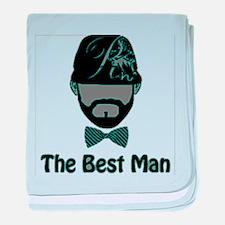 RightOn Best Man1 baby blanket