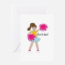 Love To Cheer! Greeting Cards