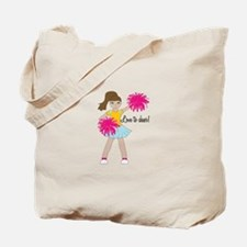 Love To Cheer! Tote Bag