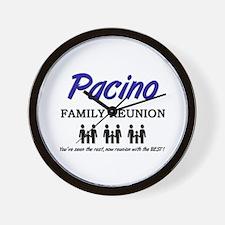 Pacino Family Reunion Wall Clock