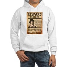 NOSTALGIC BILLY THE KID WANTED POSTER Hoodie
