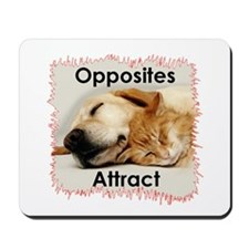 Opposites Attracts Mousepad
