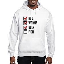 Fishing Checklist Hoodie