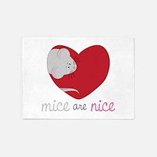 Mice Are Nice 5'x7'Area Rug