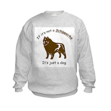 Schipperke Kids Sweatshirt