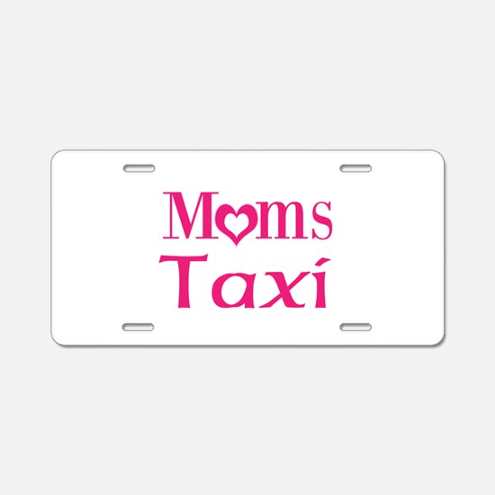 Moms Taxi Aluminum License Plate