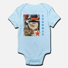 Snowman Star. Body Suit