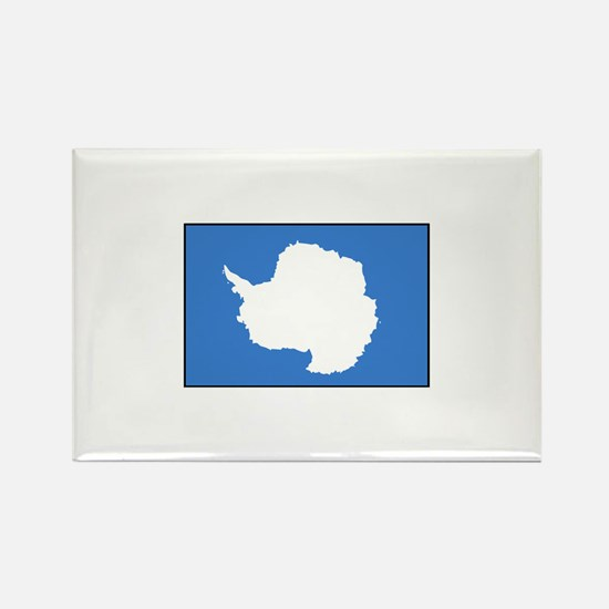 Antarctica Flag Rectangle Magnet