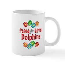 Peace Love Dolphins Mug