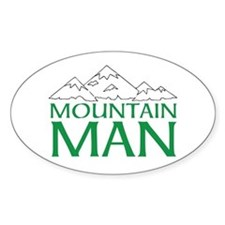 MOUNTAIN MAN Decal