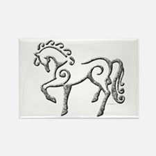 Celtic Horse Rectangle Magnet