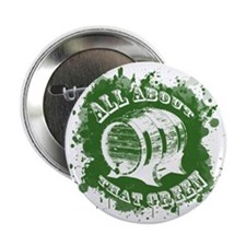 "Green Beer 2.25"" Button"
