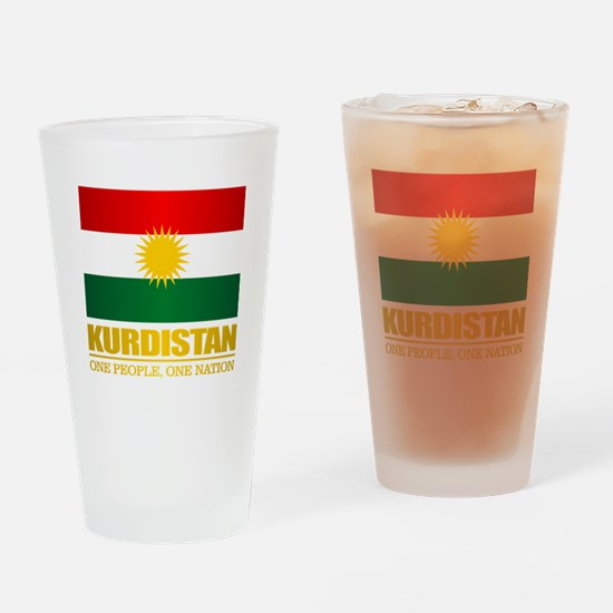 Kurdistan 2 Drinking Glass
