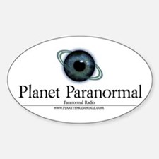 Planet Oval Decal