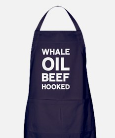 Whale Oil Beef Hooked Apron (dark)