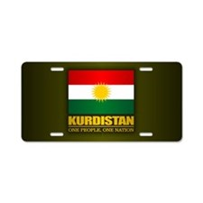 Kurdistan 2 Aluminum License Plate