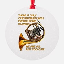 French Horn Cutie Ornament
