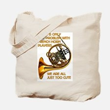 French Horn Cutie Tote Bag