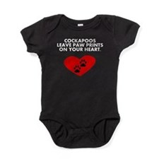 Cockapoos Leave Paw Prints On Your Heart Baby Body