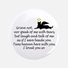 """I LOVED YOU SO 3.5"""" Button (100 pack)"""