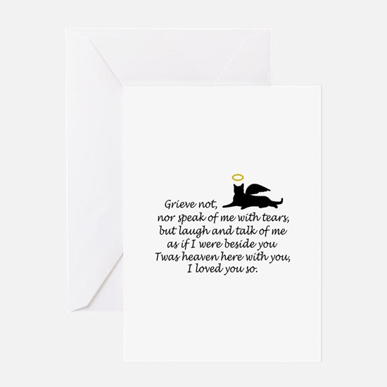 I LOVED YOU SO Greeting Cards
