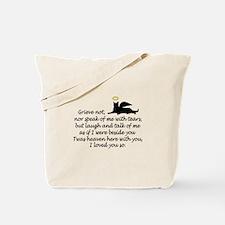 I LOVED YOU SO Tote Bag