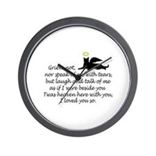 I LOVED YOU SO Wall Clock