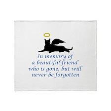 IN MEMORY OF Throw Blanket