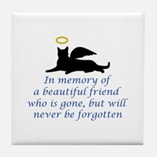 IN MEMORY OF Tile Coaster
