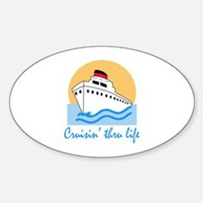 CRUISIN THRU LIFE Decal