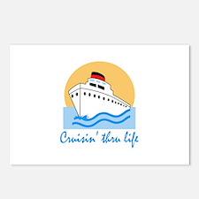 CRUISIN THRU LIFE Postcards (Package of 8)