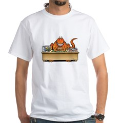 T-Rex and a Smile Inbox/Outbox Dinosaur T-Shirt