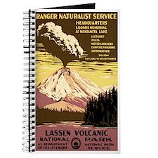 1930s Vintage Lassen Volcanic National Park Journa