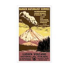 1930s Vintage Lassen Volcanic National Park Sticke