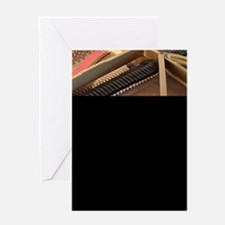 Inside a Piano Greeting Card