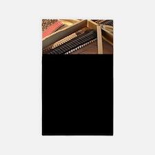 Inside a Piano Area Rug