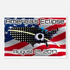 America's Eclipse August  Postcards (Package of 8)