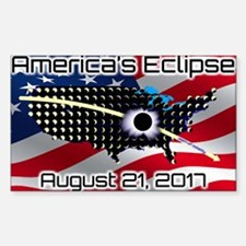 America's Eclipse August 21, 2 Decal