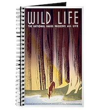 1930s Vintage Wildlife WPA Poster Journal