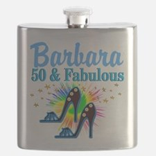 STUNNING 50TH Flask