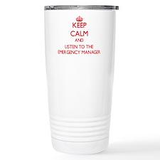 Cute Emergency manager Travel Mug